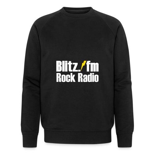 BLITZ FM TSHIRT Schwarz - Männer Bio-Sweatshirt von Stanley & Stella