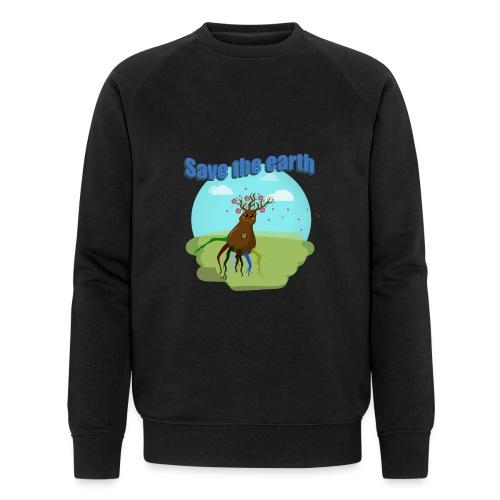 SAVE THE PLANET - Sweat-shirt bio Stanley & Stella Homme