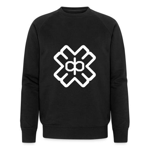 d3eplogowhite - Men's Organic Sweatshirt by Stanley & Stella