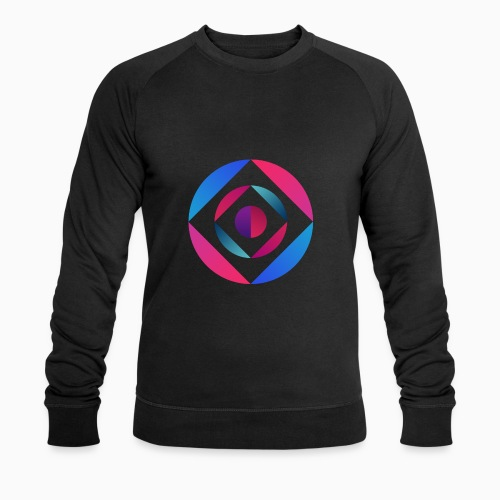 Bi Circle - Men's Organic Sweatshirt by Stanley & Stella