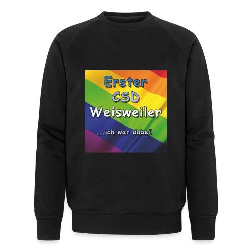 Erster CSD Weisweiler - Männer Bio-Sweatshirt von Stanley & Stella