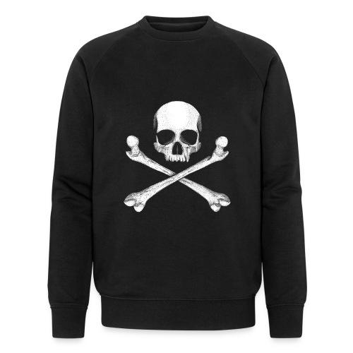 Jolly Roger - Pirate Skull Flag - Men's Organic Sweatshirt by Stanley & Stella