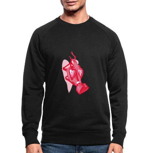 Love stinks - Mannen bio sweatshirt