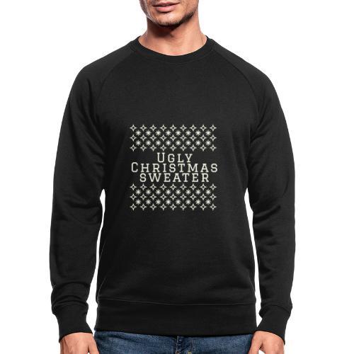 Ugly Christmas sweater, maglione natalizio festoso - Felpa ecologica da uomo