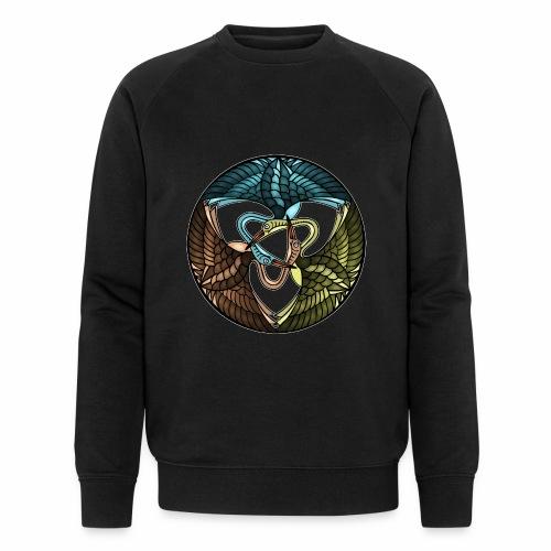 Kraniche - Männer Bio-Sweatshirt von Stanley & Stella