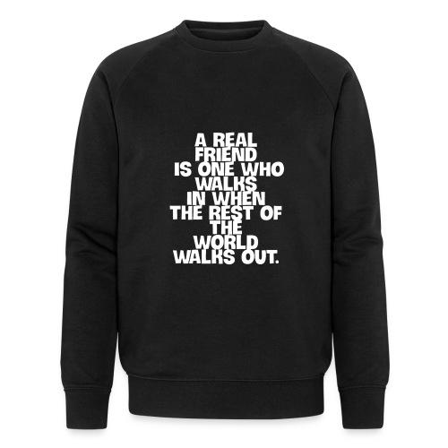 real freund - Männer Bio-Sweatshirt von Stanley & Stella