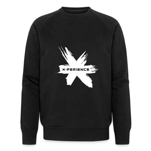 x-perience Logo weiß - Männer Bio-Sweatshirt von Stanley & Stella