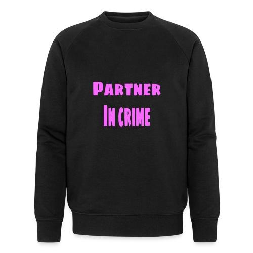 Partner in crime pink - Ekologisk sweatshirt herr från Stanley & Stella