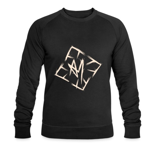Across Yourself - Logo white transparent - Men's Organic Sweatshirt by Stanley & Stella