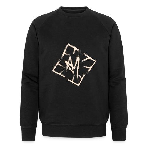 Across Yourself - Logo white transparent - Men's Organic Sweatshirt