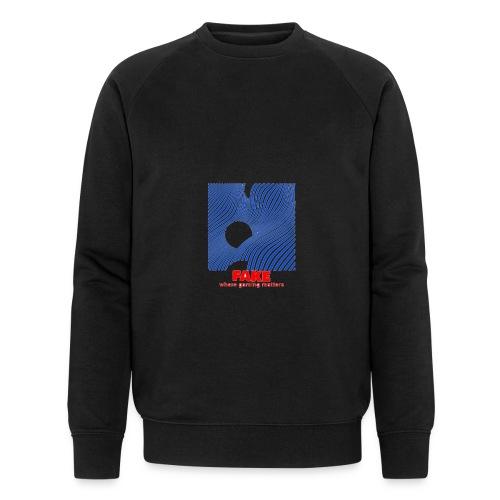 FAKE logo - Økologisk sweatshirt for menn fra Stanley & Stella