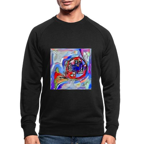 cornoarte1 - Mannen bio sweatshirt