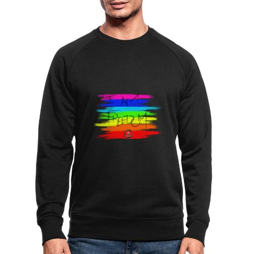 I AM FREEDOM MaitriYoga - Sweat-shirt bio Stanley & Stella Homme