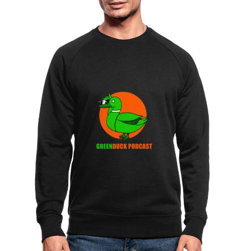 Greenduck Podcast Logo - Økologisk sweatshirt til herrer