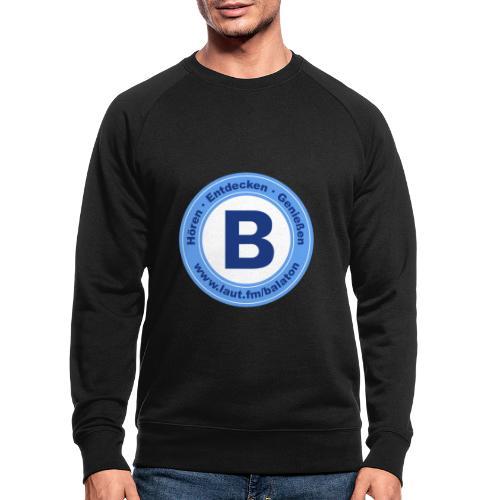 Webradio Balaton - Männer Bio-Sweatshirt