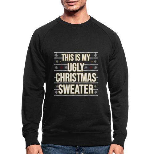 Ugly xmas Christmas Weihnachten Sweater Lustig - Männer Bio-Sweatshirt