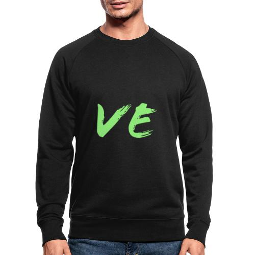 Love Paare Partnershirt Partnerlook Partnerdesign - Männer Bio-Sweatshirt