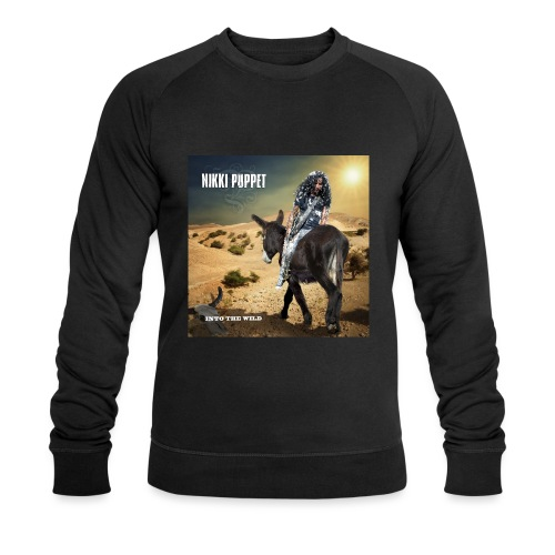 NIKKI PUPPET INTO THE WILD - Männer Bio-Sweatshirt
