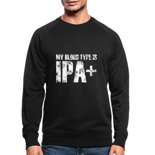 My Blood Type Is IPA Plus - Ekologiczna bluza męska