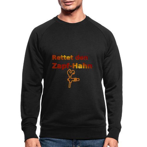 Rettet Zapfahn RG - Männer Bio-Sweatshirt