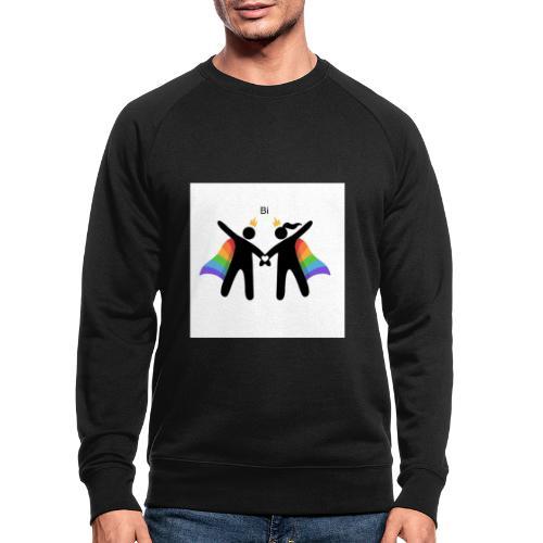 LGBT BI - Økologisk sweatshirt til herrer