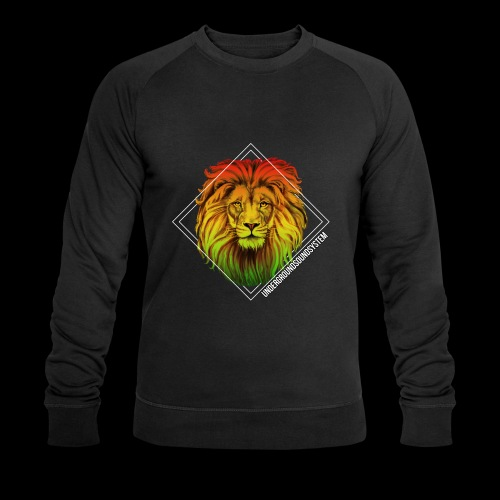 LION HEAD - UNDERGROUNDSOUNDSYSTEM - Männer Bio-Sweatshirt