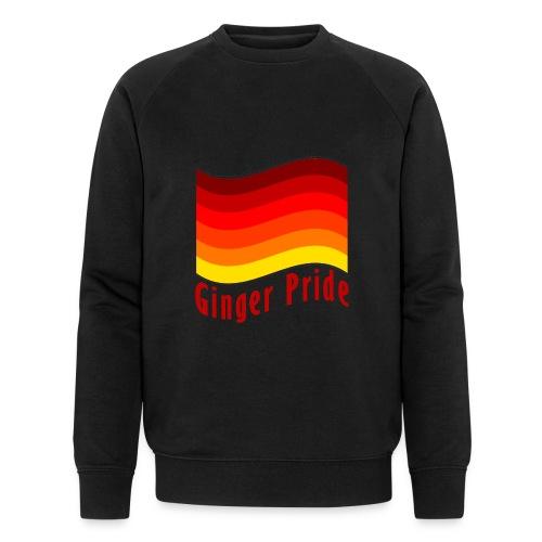 Ginger Pride flag Dark png - Men's Organic Sweatshirt by Stanley & Stella