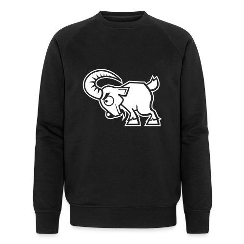 vl066c_streithammel_1c_inv - Männer Bio-Sweatshirt von Stanley & Stella