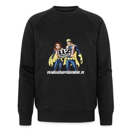 Superhelden & Logo - Männer Bio-Sweatshirt