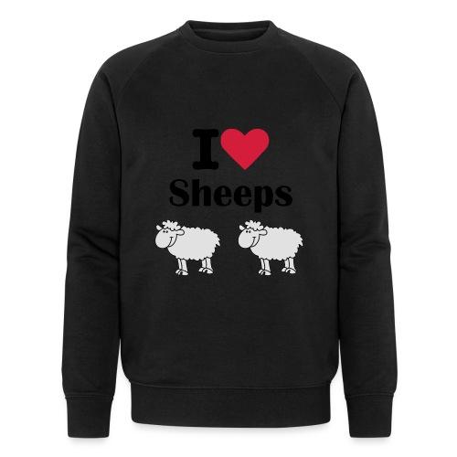 I-love-sheeps - Sweat-shirt bio