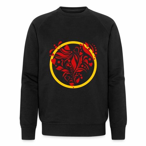Herzemblem - Männer Bio-Sweatshirt von Stanley & Stella