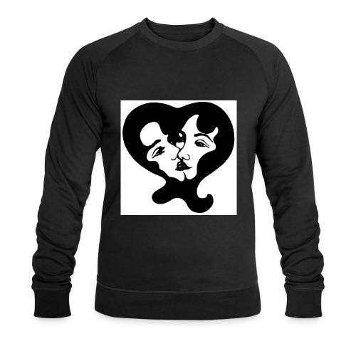 Girl Action - Men's Organic Sweatshirt by Stanley & Stella