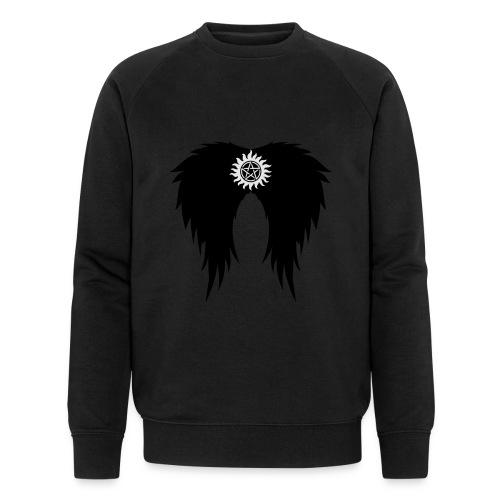 Supernatural wings (vector) Hoodies & Sweatshirts - Men's Organic Sweatshirt
