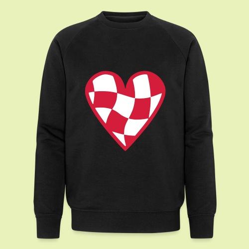 Brabant hart - Mannen bio sweatshirt van Stanley & Stella