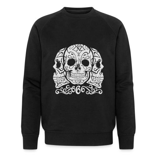 Skull Dia de los muertos - Sweat-shirt bio Stanley & Stella Homme