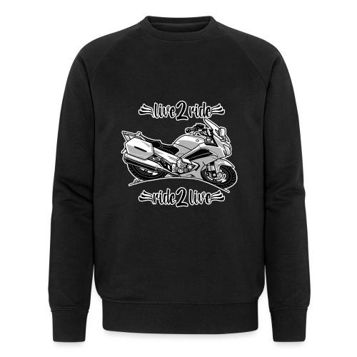 0964 live 2 ride ride 2 live - Mannen bio sweatshirt van Stanley & Stella