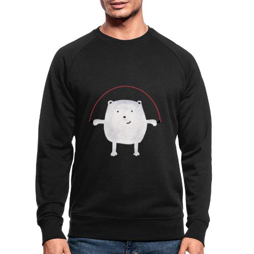 Jumping Monsta by #OneCreativeArts - Männer Bio-Sweatshirt