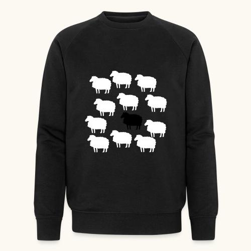 Lustige Schafherde Schwarzes Schaf Geschenkidee - Sweat-shirt bio