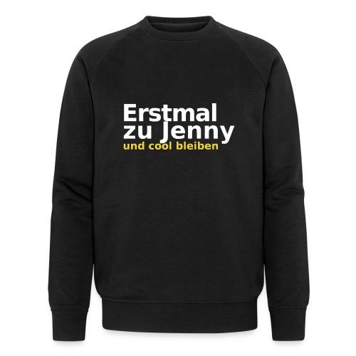 Erstmal zu Jenny - Männer Bio-Sweatshirt von Stanley & Stella