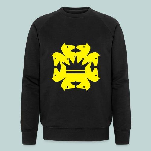 acht Springer - Männer Bio-Sweatshirt