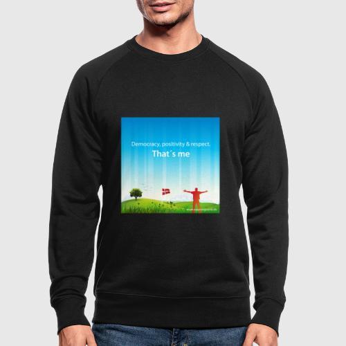 Rolling hills tshirt - Økologisk sweatshirt til herrer