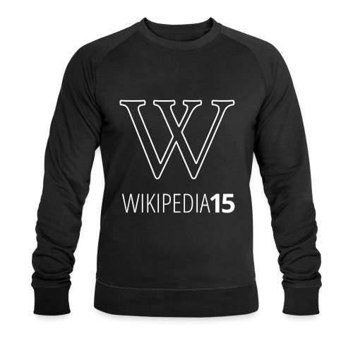 W, rak, svart - Ekologisk sweatshirt herr från Stanley & Stella