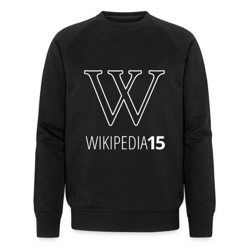 W, rak, svart - Ekologisk sweatshirt herr