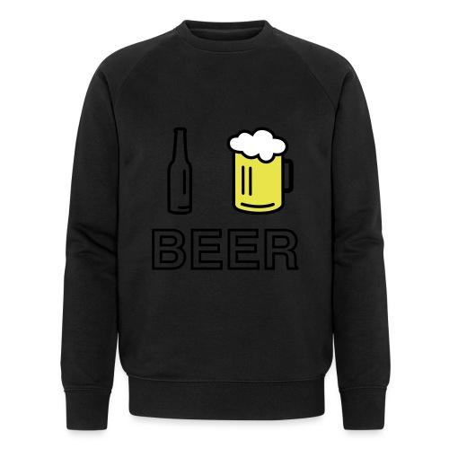 I Love Beer (3-farbig) - Männer Bio-Sweatshirt von Stanley & Stella