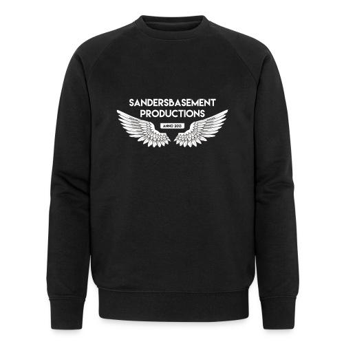 T SHIRT logo wit png png - Mannen bio sweatshirt