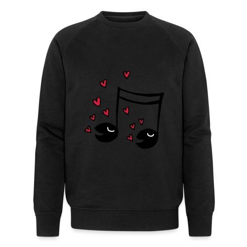 Love tunes - Männer Bio-Sweatshirt von Stanley & Stella