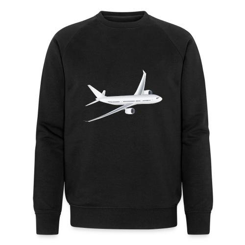 Flugzeug - Männer Bio-Sweatshirt von Stanley & Stella