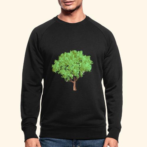 baum 3 - Männer Bio-Sweatshirt