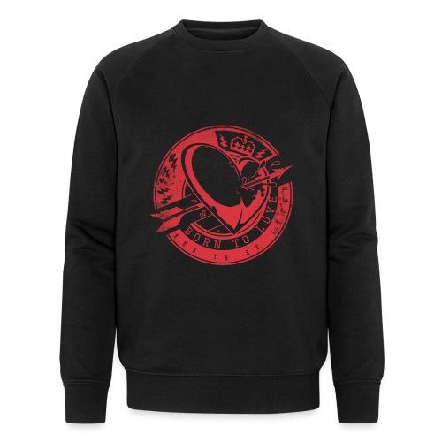 Born to love - Männer Bio-Sweatshirt von Stanley & Stella