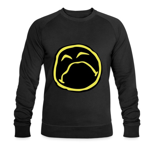 Droef Emoticon - Mannen bio sweatshirt van Stanley & Stella